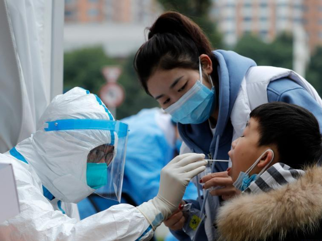 Citywide nucleic acid tests continue in Chengdu
