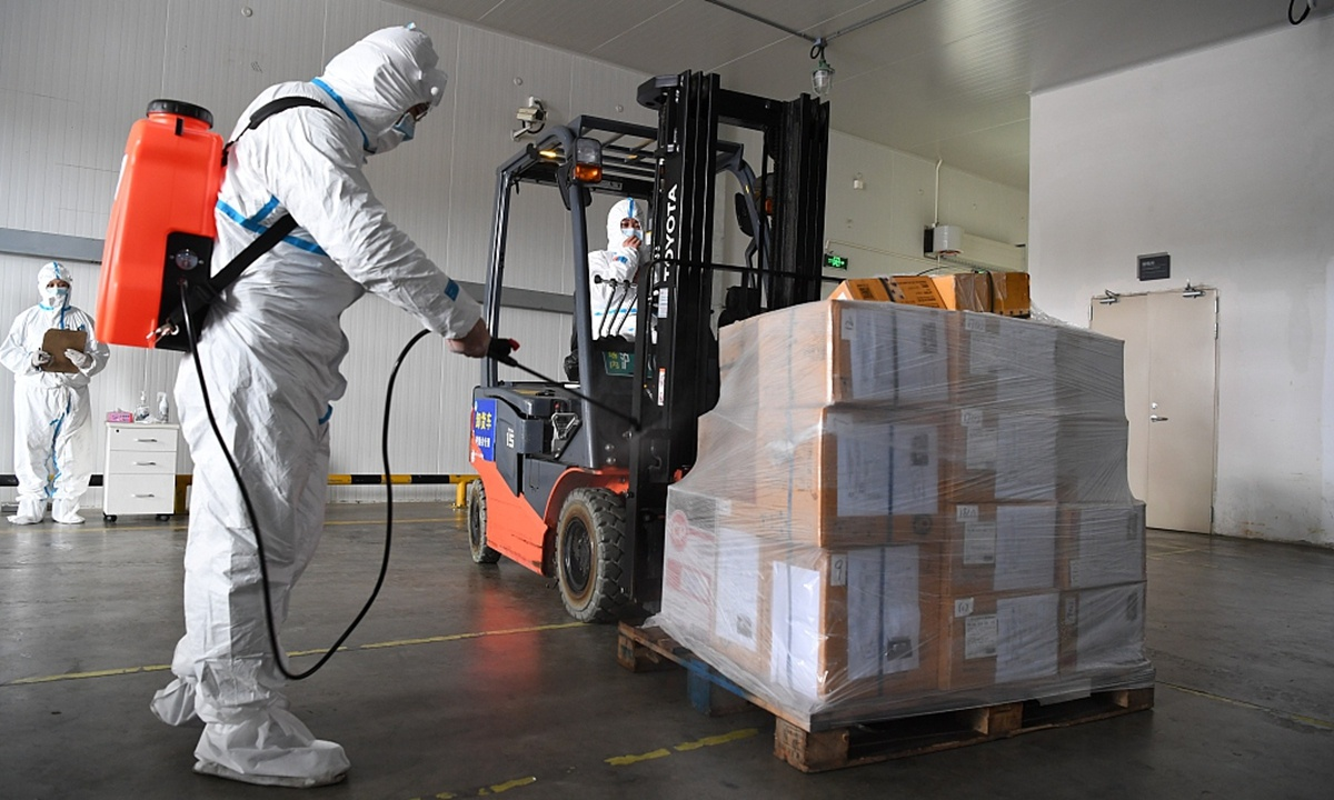Tech firm supports cold chain checking
