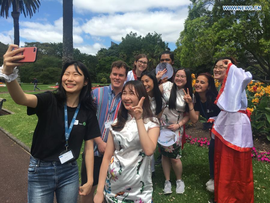 China Culture Camp offers special experience for New Zealand students