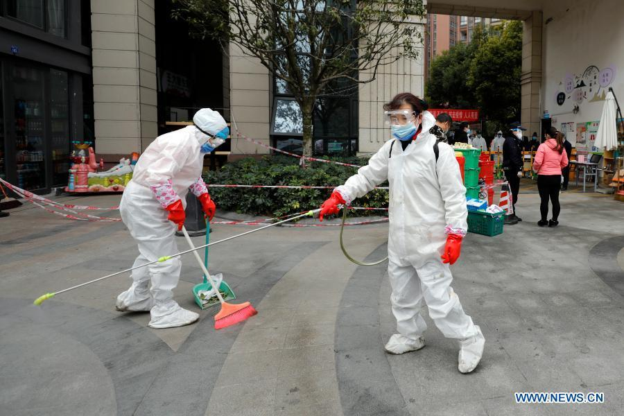 Daily life in Chengdu amid COVID-19 pandemic
