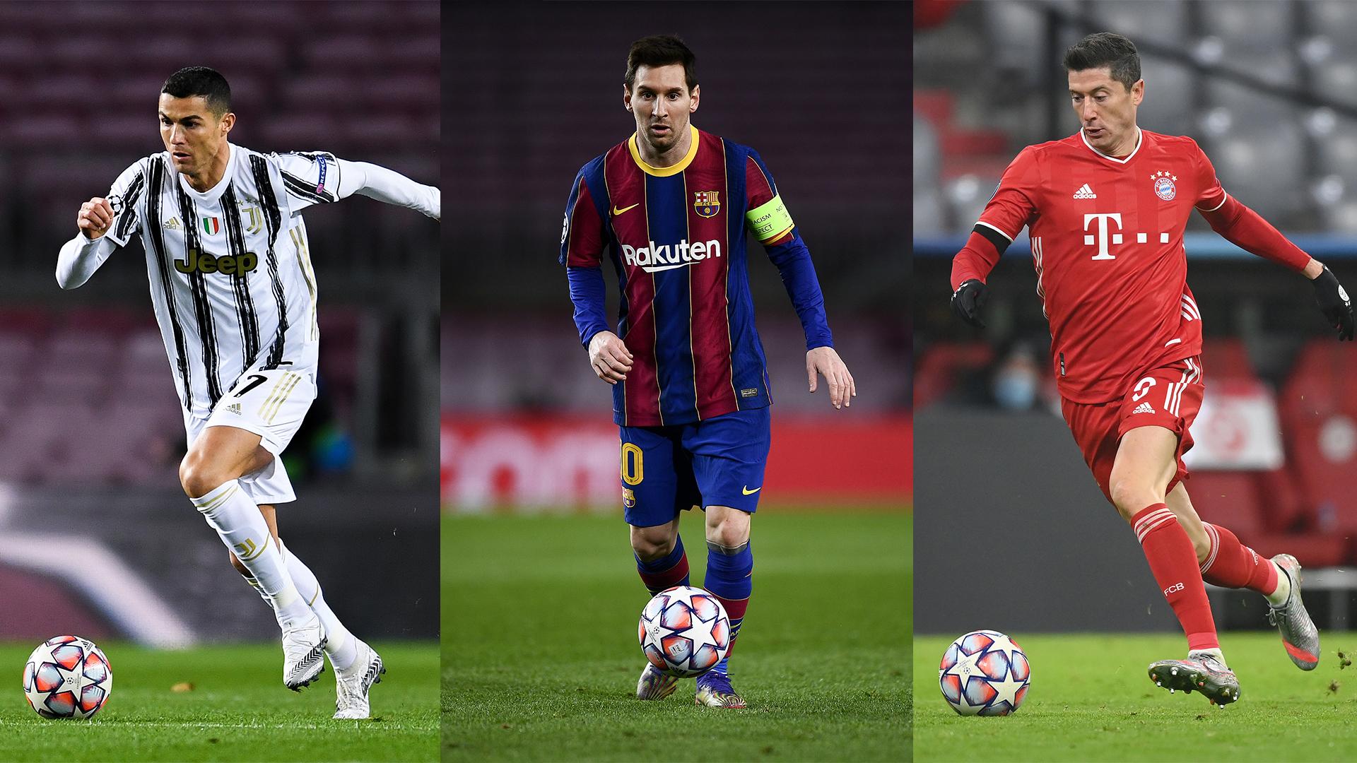 Messi, Ronaldo, Lewandowski nominated for FIFA's best men's player