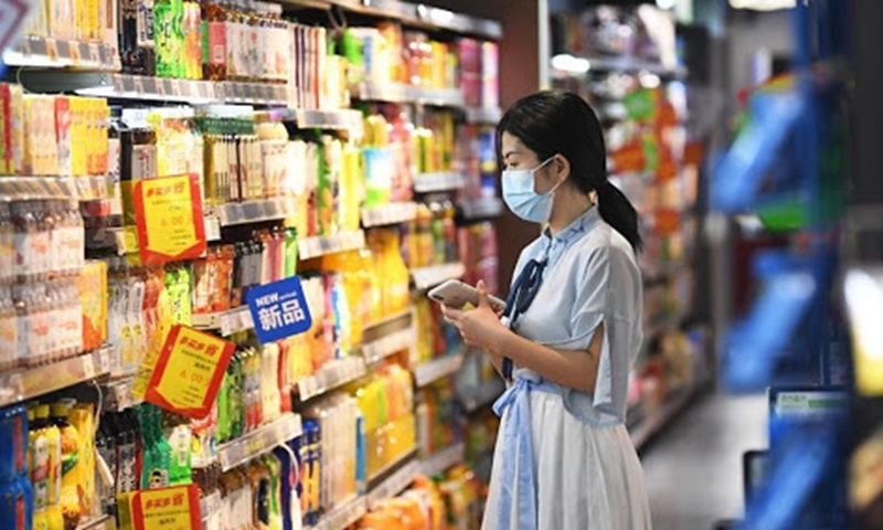 China's retail sales to grow 4-5 percent in 2021: blue paper