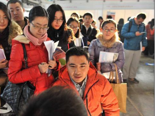 China's surveyed urban unemployment rate drops in November