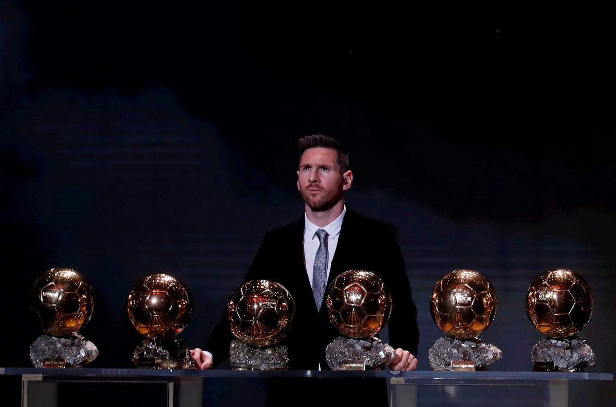 Messi grateful for Ballon d'Or Dream Team spot