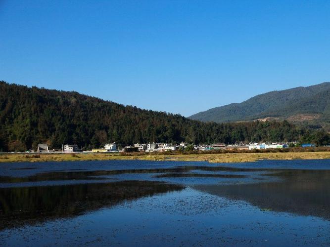 View of Beihai Wetland in SW China's Yunnan