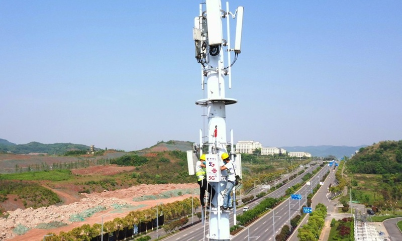 China rolls out 718,000 5G base stations, with internet connections extending to outlying regions: MIIT