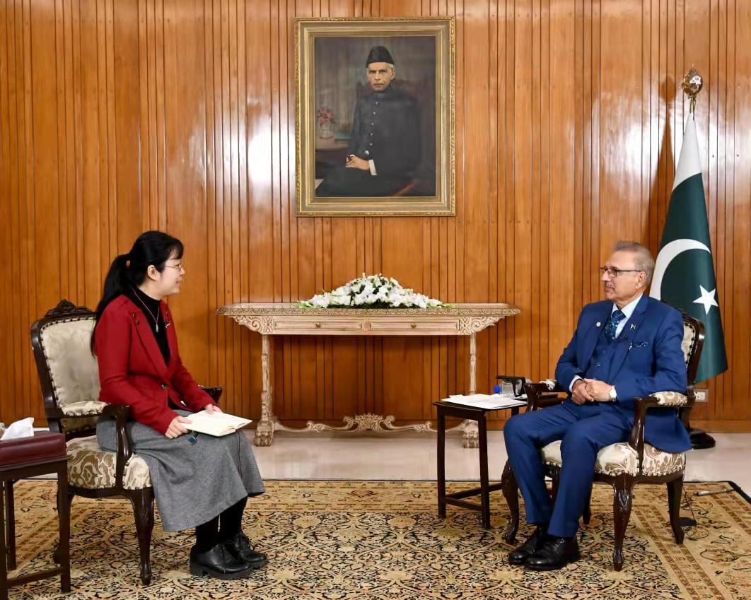 China-Pakistan Economic Corridor cooperation has advanced despite pandemic: President Alvi