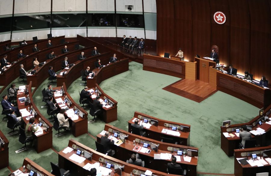 HKSAR gov't stops paying wages to 'exiled' district lawmaker