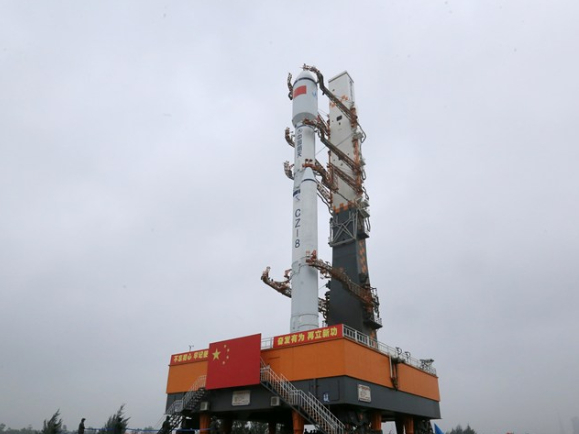 China prepares to launch Long March-8 Y1 rocket