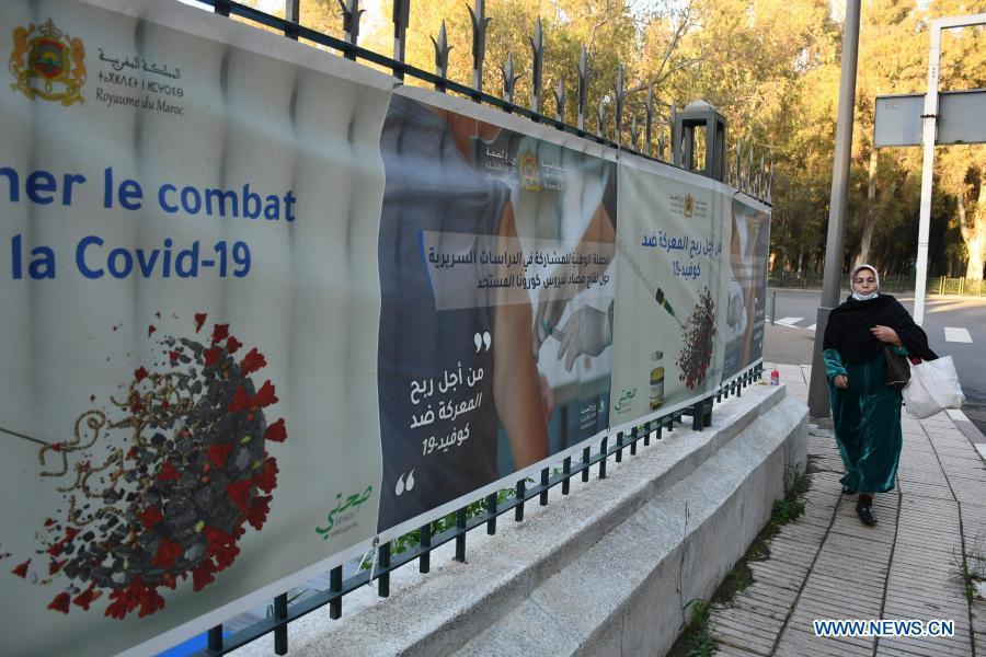 Morocco's COVID-19 cases surpass 400,000