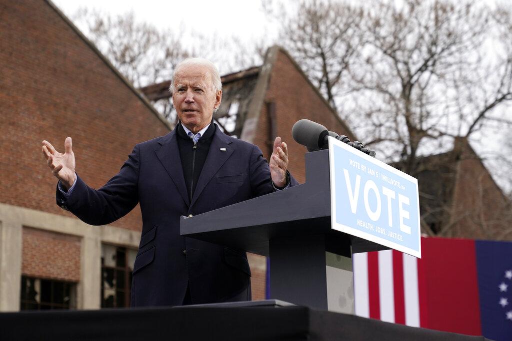 Biden tells Georgia he needs a Democratic Senate to govern