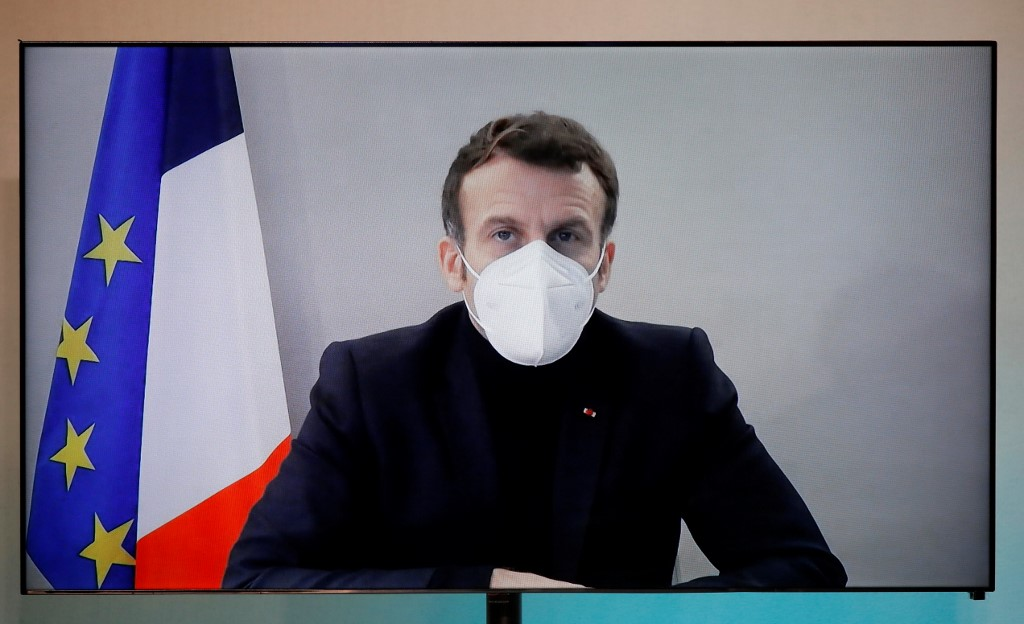 """French presidency says Macron's condition """"stable"""" after COVID-19 infection"""