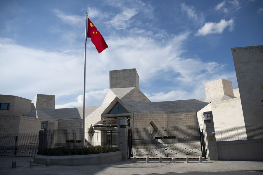 Chinese embassy in US tightens COVID-19 testing rules