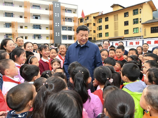 Xi's stories: Letters showcase Xi's passion for education