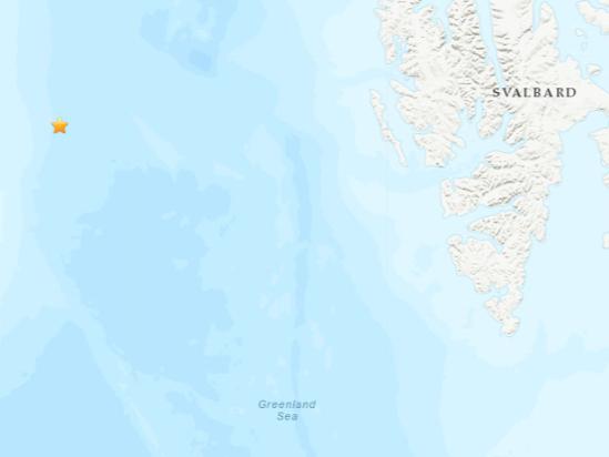 5.0-magnitude quake hits Greenland Sea: USGS
