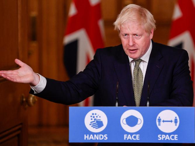 UK govt borrowing soars further on virus spending