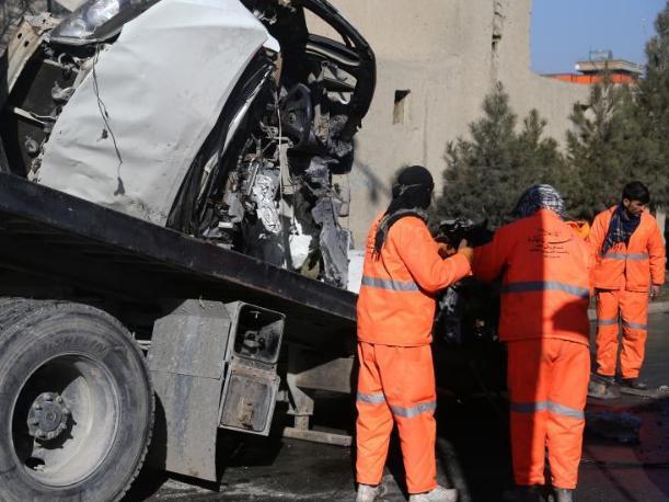 Car bomb kills 2 soldiers, injures 5 in Afghanistan N. Faryab province