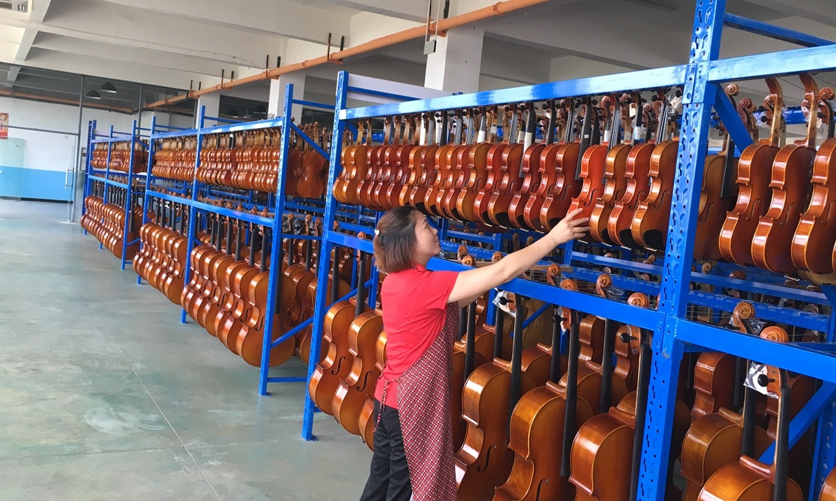 'World's factory of violin' trains farmers into craftsmen, lifts region out of poverty
