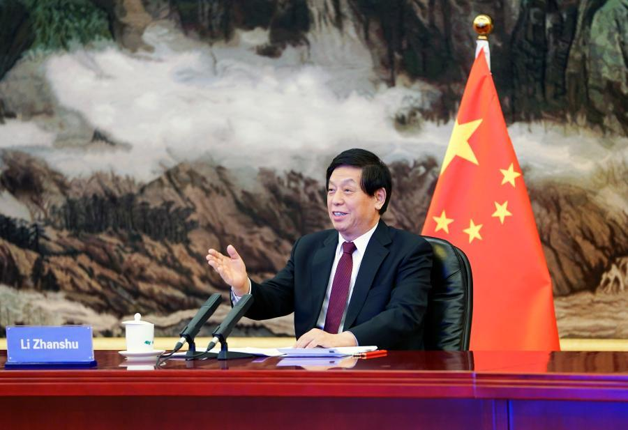 China's top legislator calls for enhancing exchanges with ROK
