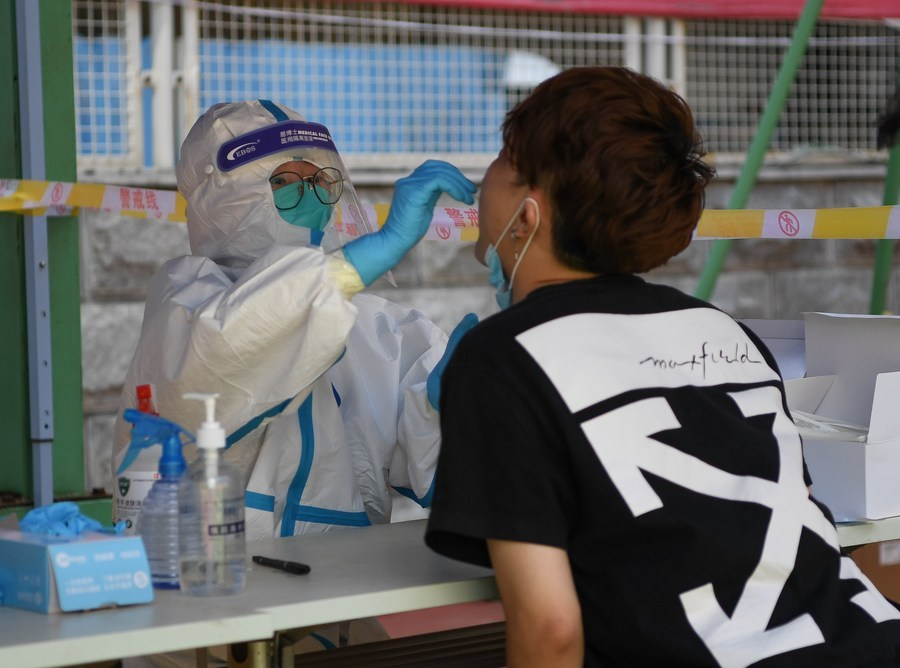Dalian testing all residents after outbreak