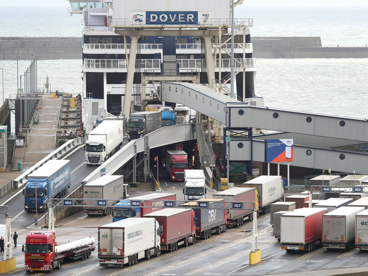 UK port of Dover says reopening to outgoing traffic