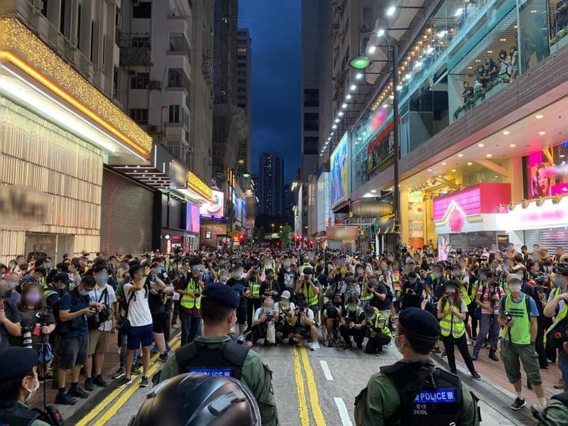 Black hand in Hong Kong riots exposed