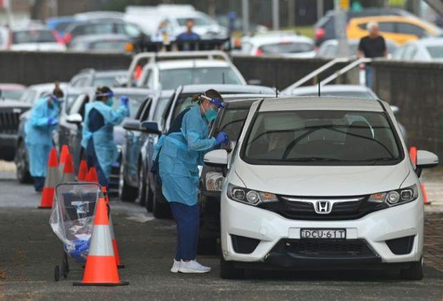 Sydney eases virus restrictions for Christmas