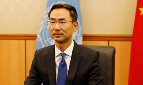 Germany's UN envoy slammed by China over irresponsible comment on 'Two Michaels'