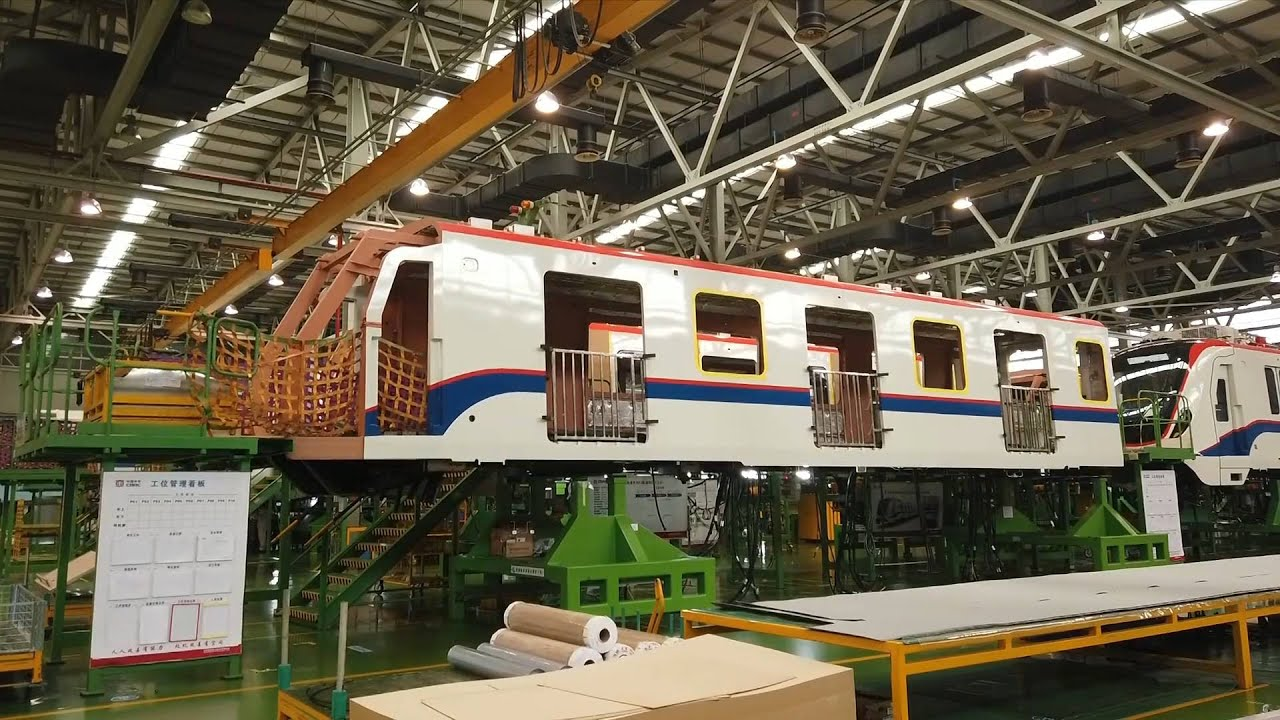 Mexico to use China-built light rail car for first time