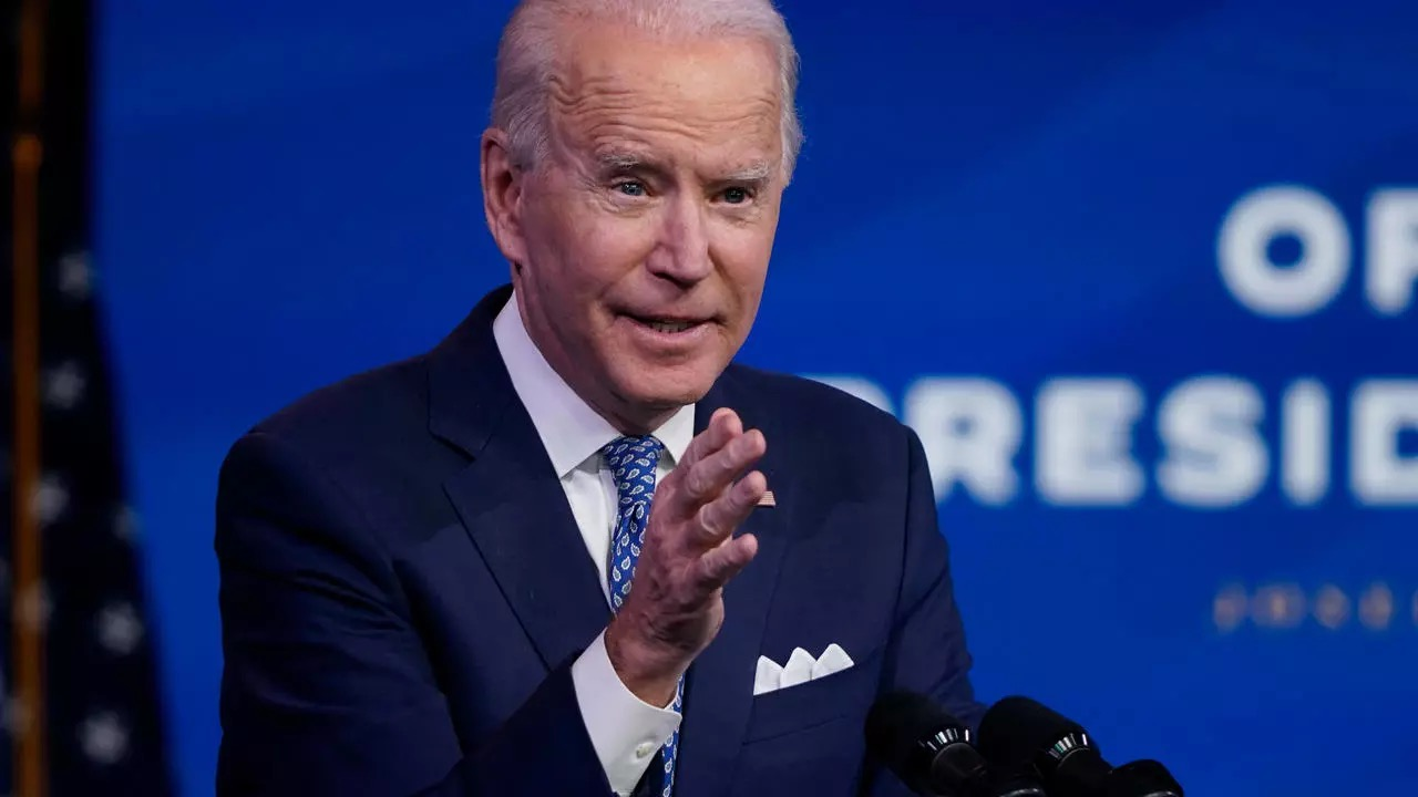 Biden says will push Congress for another Covid relief bill