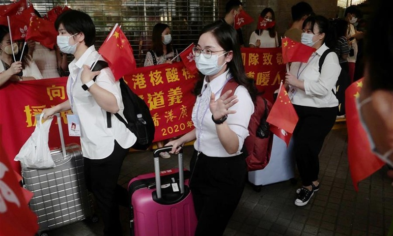 Seeking anti-epidemic aid from central government to HK 'a right decision to make'