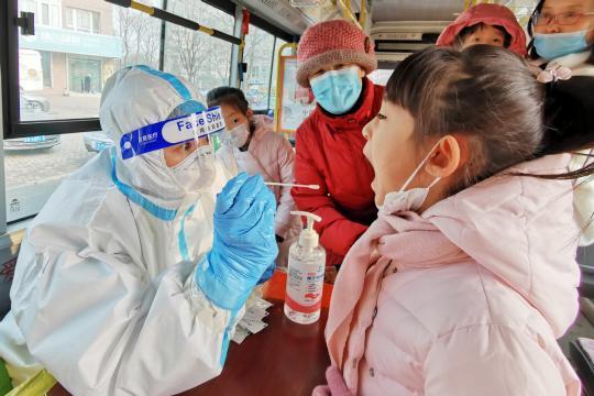Shenyang steps up anti-virus measures