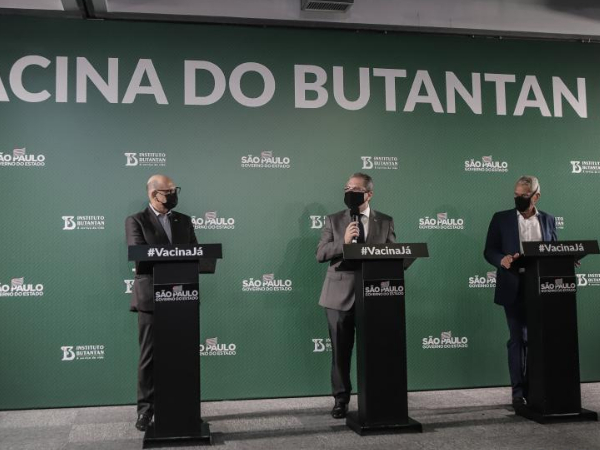 Brazil's Butantan Institute announces efficacy of China's CoronaVac vaccine on Brazilian volunteers