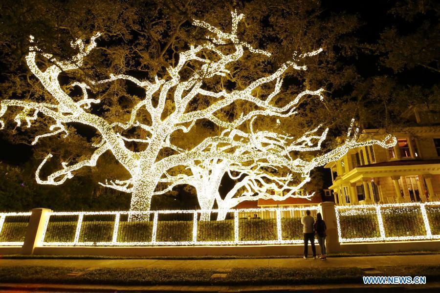 Christmas preparations made across world