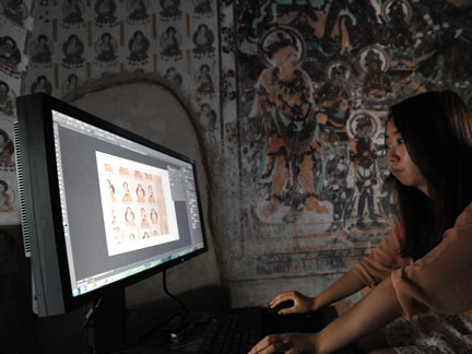 Digitalization underway to preserve China's Dunhuang grottoes