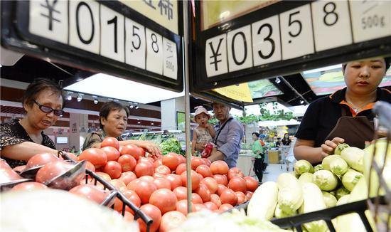 Agricultural produce to sufficiently meet needs
