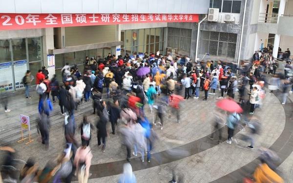 China tightens epidemic control in postgraduate admission exam