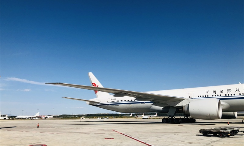 Three major Chinese airlines announce suspension of flights between China and UK