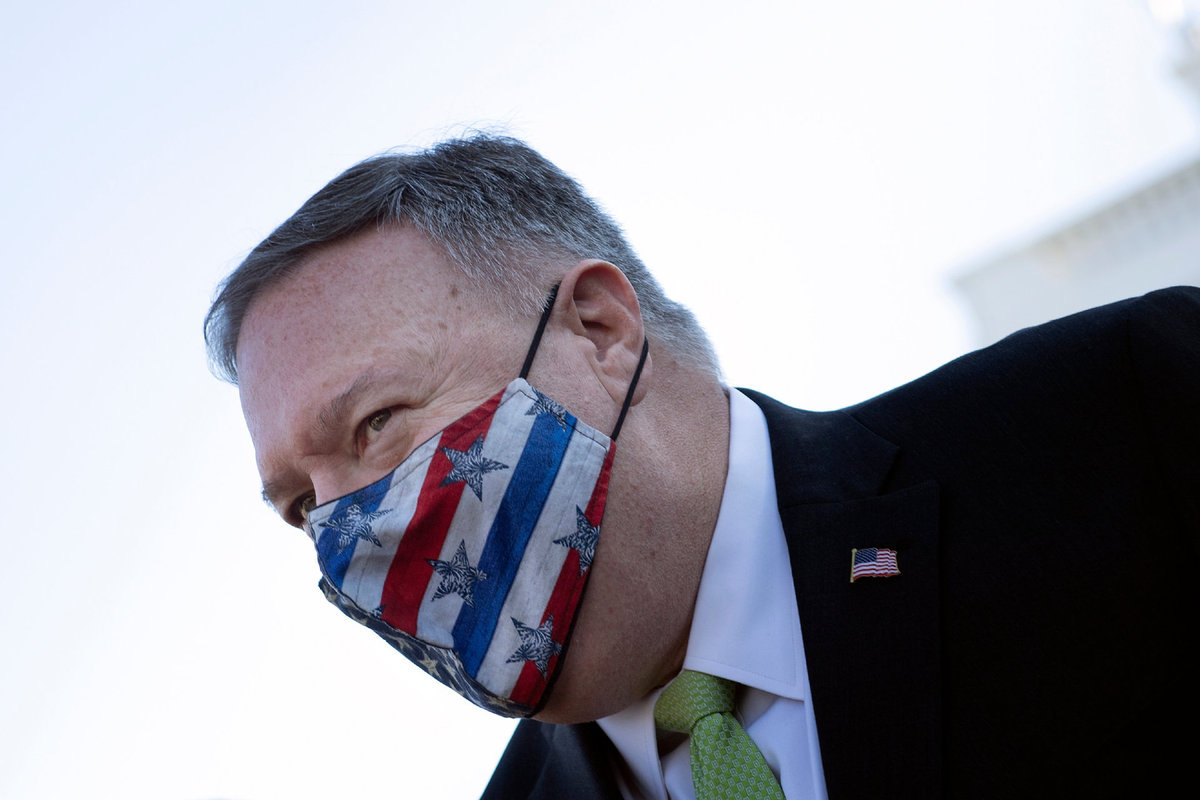 Pompeo to quarantine after contact with COVID-19 case