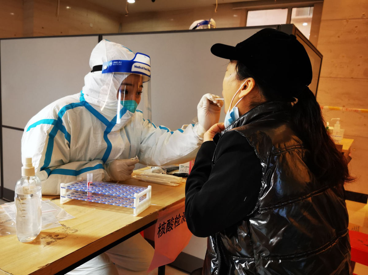 National health body dispatches team to help Dalian fight COVID-19
