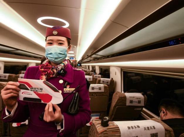 China's high-speed trains pilot 'quiet car' service