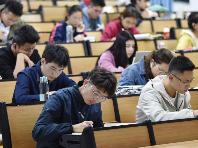 Postgrad exam-takers on rise in tougher job market