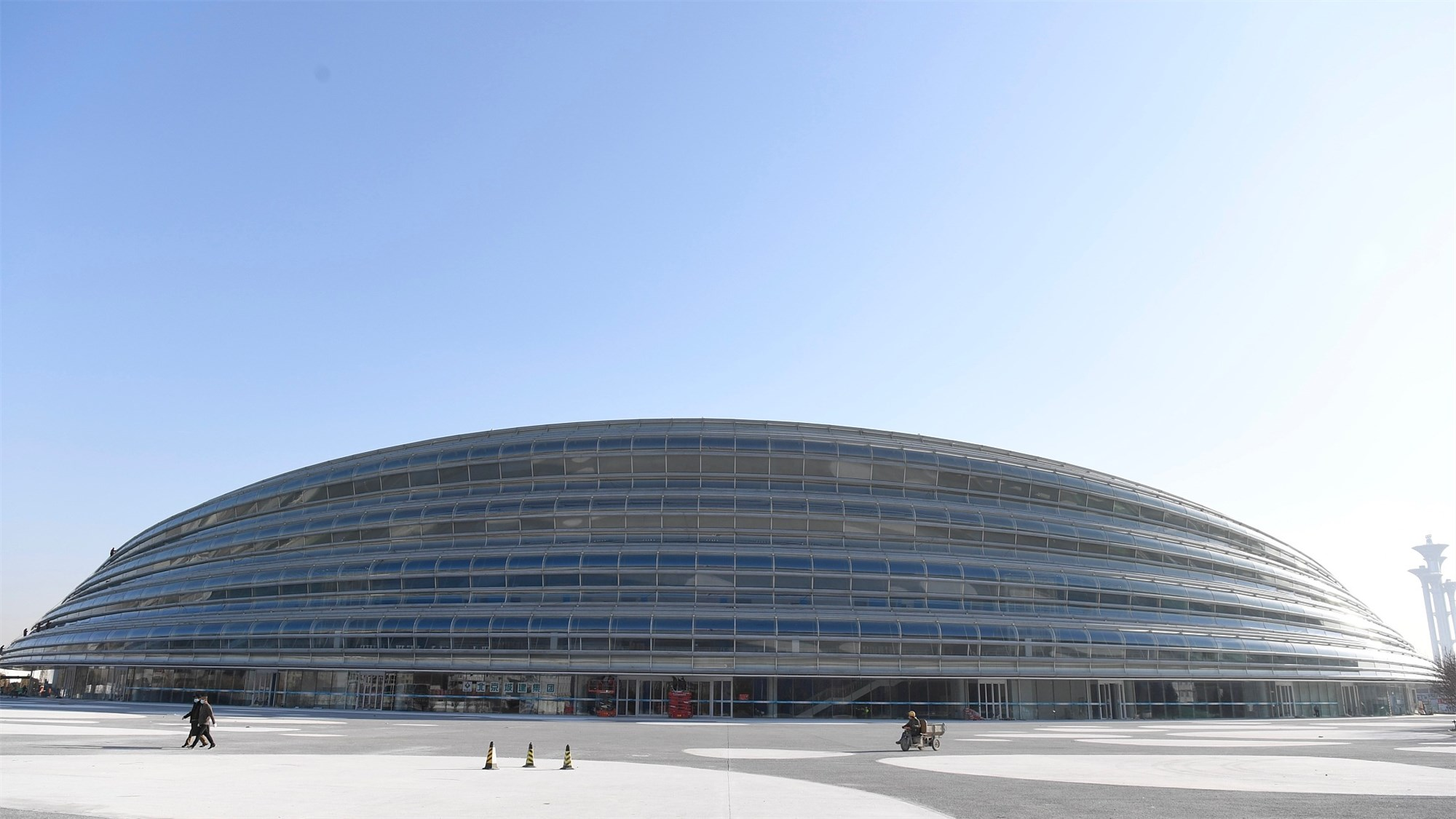 Beijing 2022 Winter Olympics speed skating venue completed