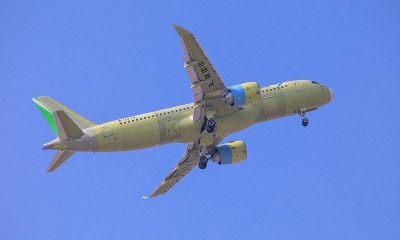 China's C919 jet begins cold-weather test flights in Inner Mongolia