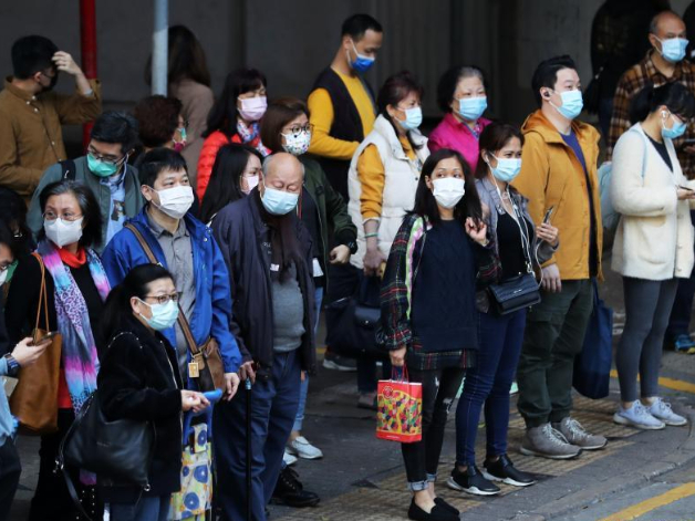 Hong Kong reports 59 new COVID-19 cases, exceeding 8,500 in total