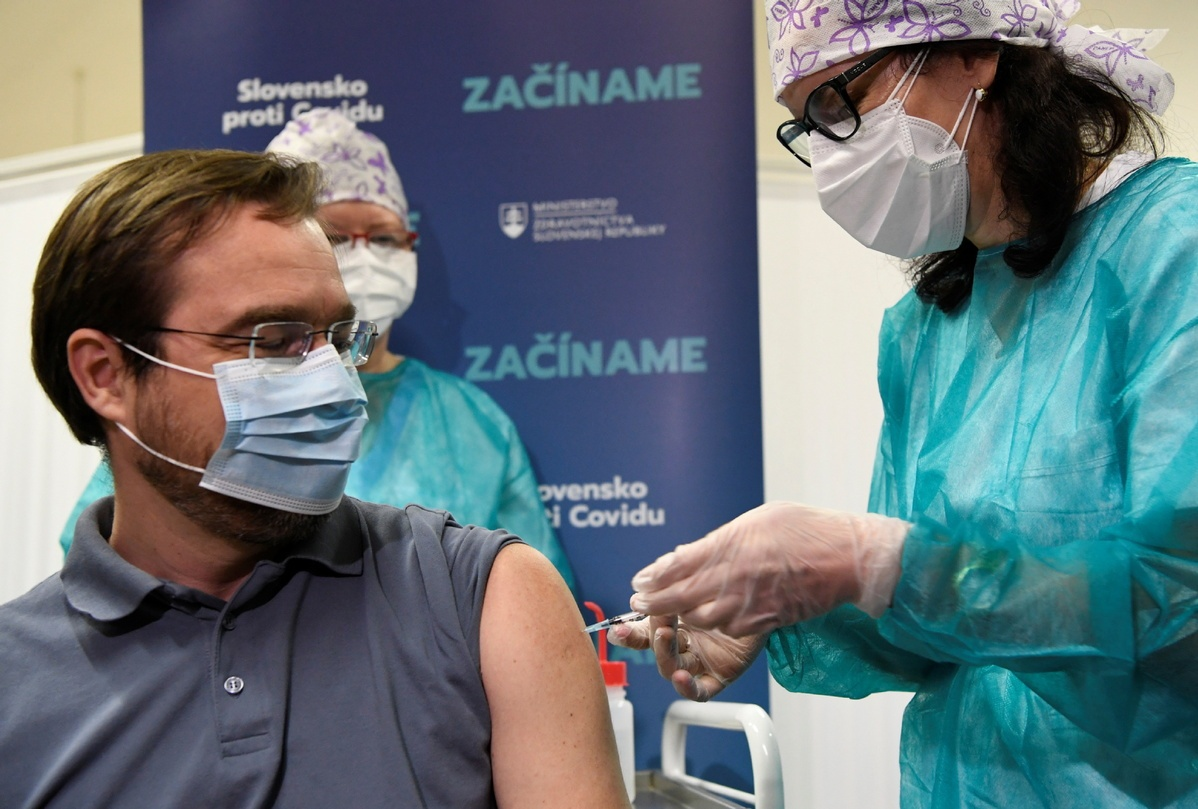 Europe rolls out vaccines in bid to leave pandemic behind