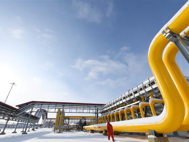 China's gas output to surpass 186 billion cubic meters