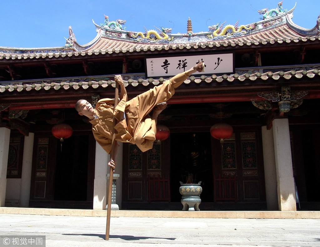 Shaolin Temple works with university to enroll overseas students for Kung Fu major