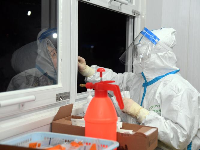 Beijing district implements strict measures to control virus