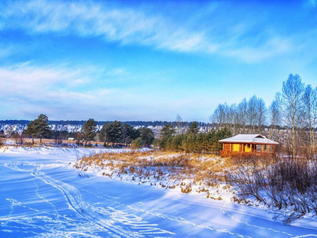 North Pole Village in China's Heilongjiang